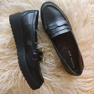 6a9f5f912c8 Madden Girl Shoes - Madden girl   Empire platform oxford penny loafers